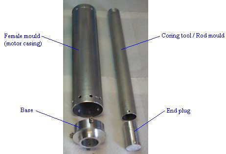 Moulding apparatus, rod & tube