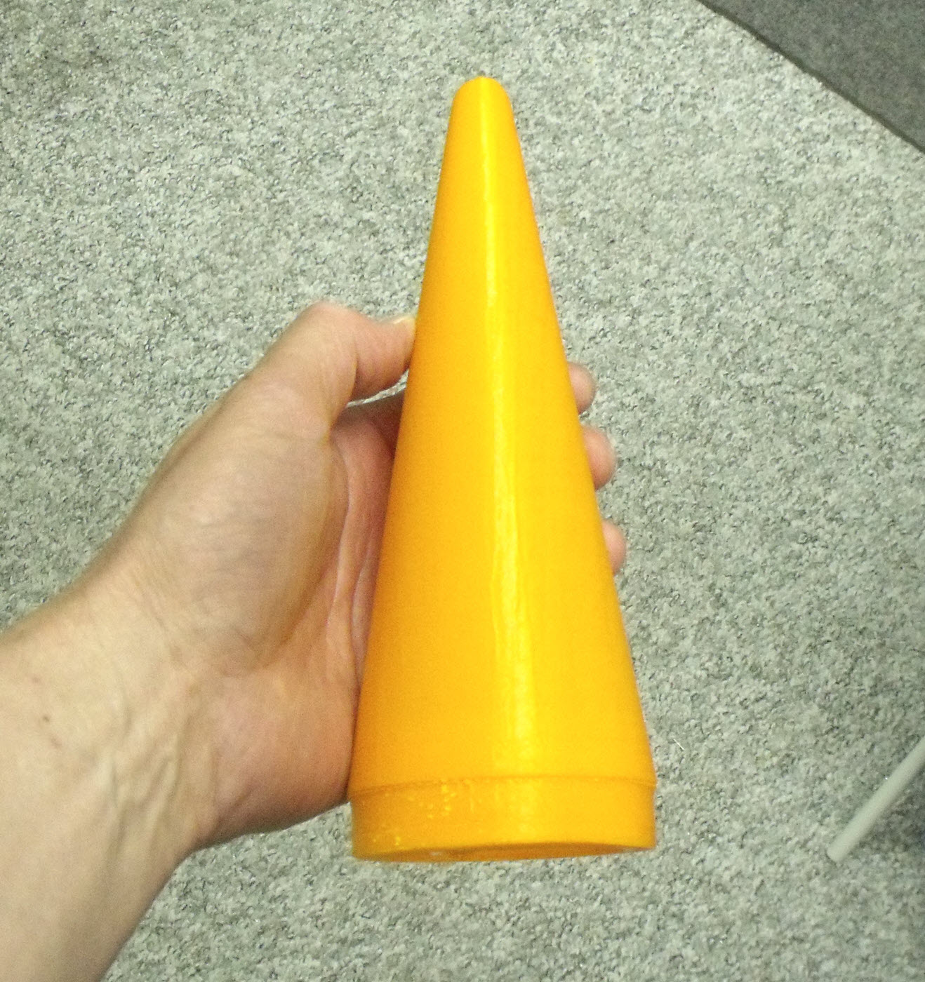 3D printed Xi nosecone