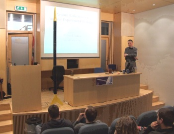 lecture in Iceland